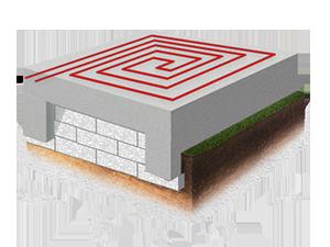 Фундамент утепленная плита