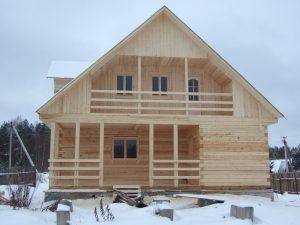 готовые дома из бруса в Твери
