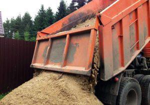 доставка песка в Твери